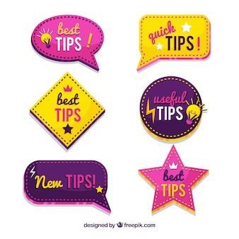Colección de consejos rápidos