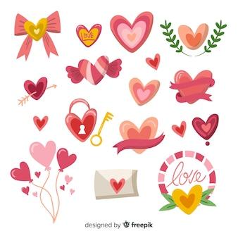 Colección corazones originales