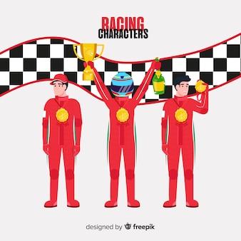 Colección de corredores de fórmula 1