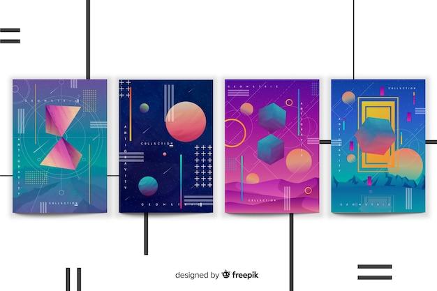 Colección de covers formas anti gravedad