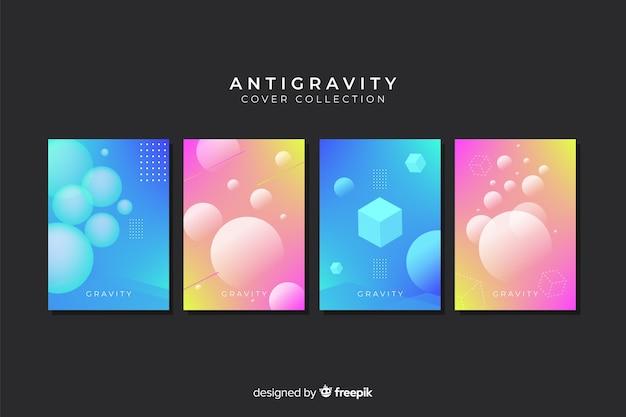Colección covers formas geométricas antigravedad