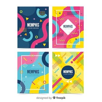 Colección de covers memphis