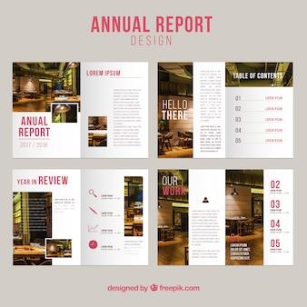 Colección de covers de reporte annual