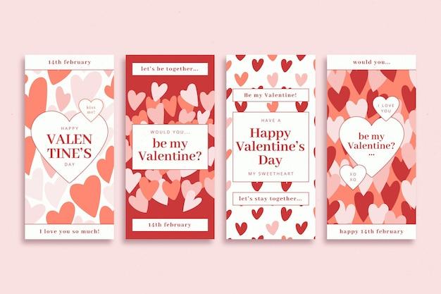 Colección de cuentos de san valentín