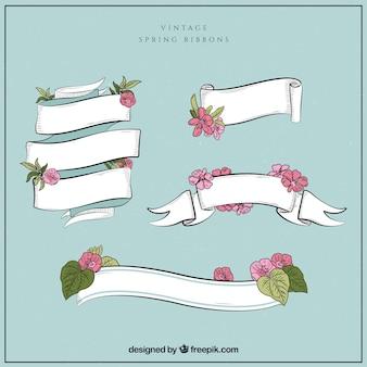 Colección de cintas de primavera