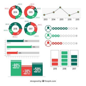 Colección de elementos estadísticos