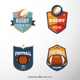 Colección de escudos de fútbol