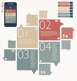Colección de fondo de diseño moderno