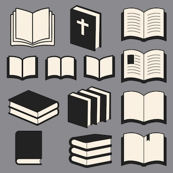 Colección de libros de la biblioteca