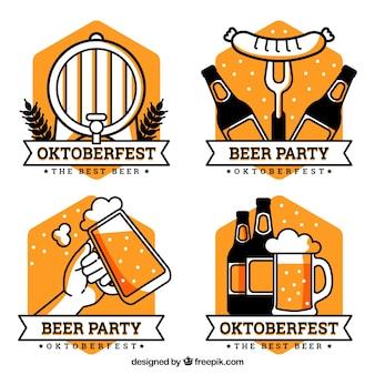 Colección de logos de oktoberfest