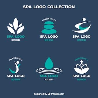 Colección de logotipos de spa