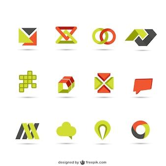 Colección de logotipos