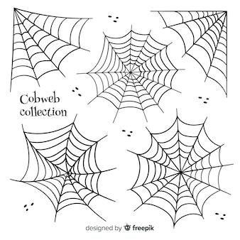 Colección de telarañas de halloween