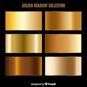 Colección degradado dorado