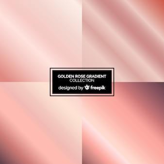 Colección degradado oro rosa
