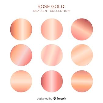 Colección degradados oro rosa