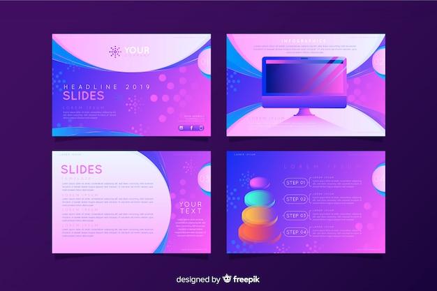Colección de diapositivas abstractas