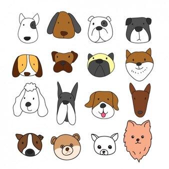 Cara Perro Fotos Y Vectores Gratis