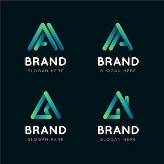 Colección de diferentes logotipos
