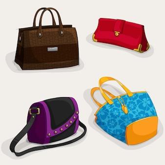 Colección de diseños de bolsos