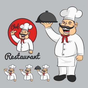 Colección de diseños de chef