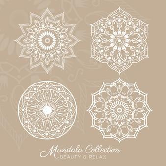 Colección de diseños de mandalas