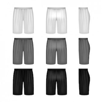 Colección de diseños de shorts