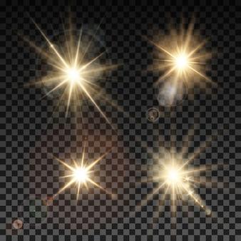 Colección de efectos de luz