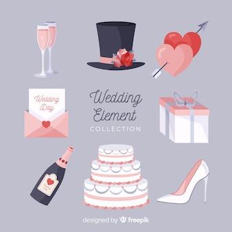 Colección elementos boda