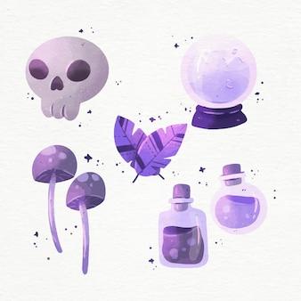 Colección de elementos esotéricos