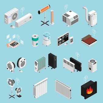 Colección de elementos para el hogar inteligente