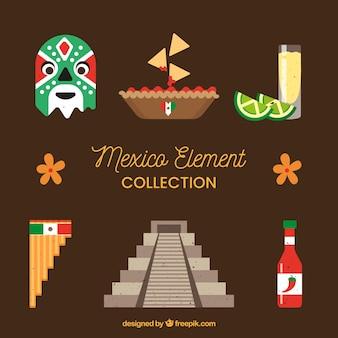 Colección de elementos de méxico