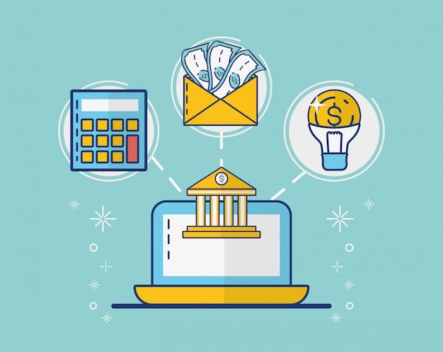 Colección de elementos de pago en línea