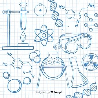 Colección de elementos de química