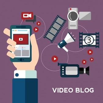 Colección de elementos de video