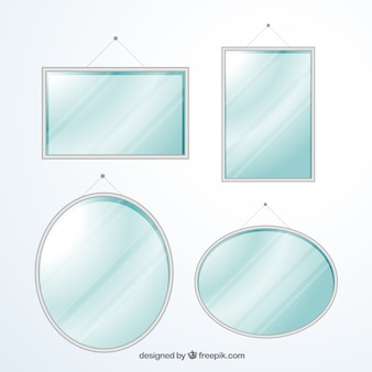 Colección de espejos modernos