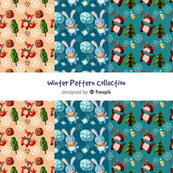Colección de estampados de invierno