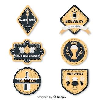 Colección etiquetas cerveza