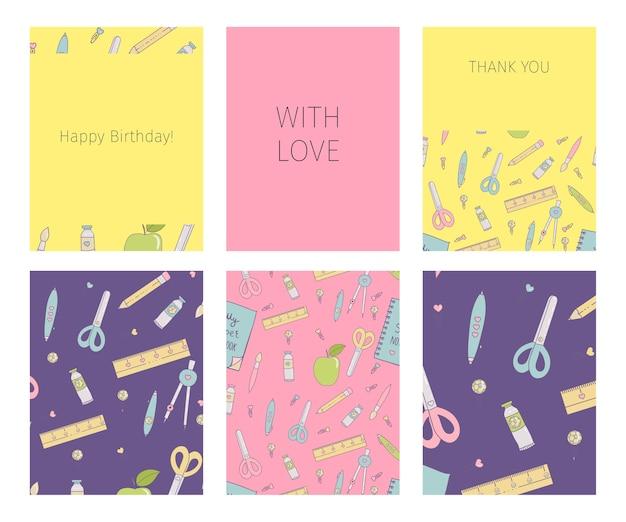 Colección de feliz cumpleaños