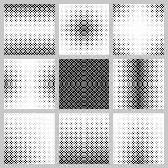 Colección de fondos abstractos