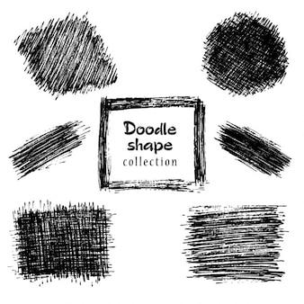 Colección formas doodle