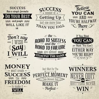 Colección de frases motivadoras