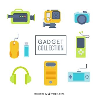 Colección de gadgets