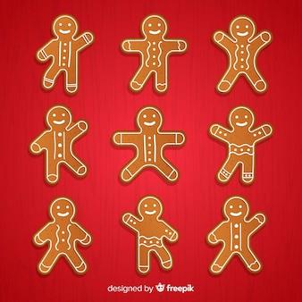 Colección de galletas de jengibre