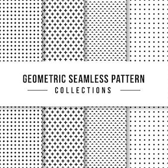 Colección geométrica de patrones sin fisuras