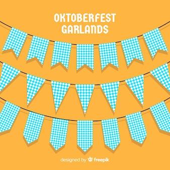 Colección de guirnaldas del oktoberfest