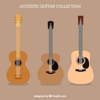 Colección de guitarras acústicas