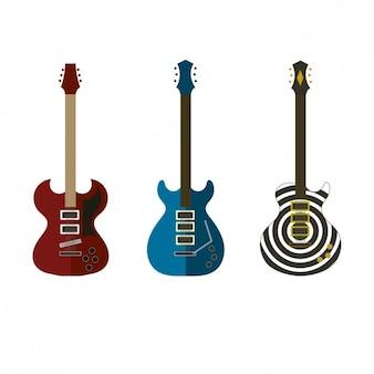 Colección de guitarras eléctricas