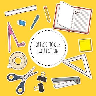 Colección de herramientas de office