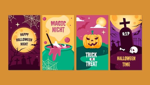 Colección de historias de instagram para halloween